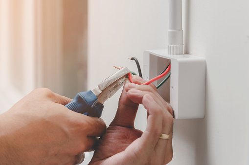 Installation and repair of electrical wiring